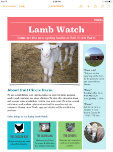 2016 Lamb Watch